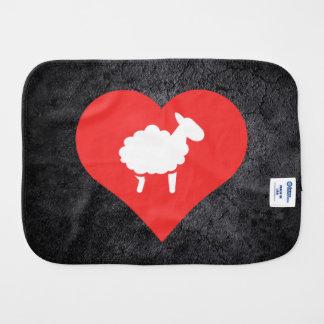 Símbolo de los corderos paños para bebé