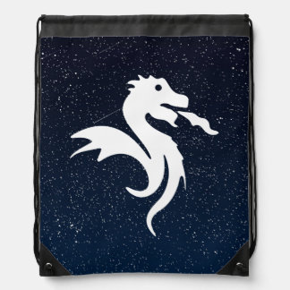 Símbolo de los dragones mochilas