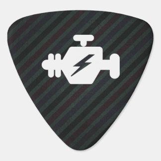 Símbolo de los generadores del motor plumilla de guitarra
