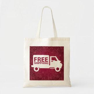 Símbolo de los pases gratises bolsa tela barata