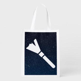 Símbolo de los plumeros bolsa reutilizable