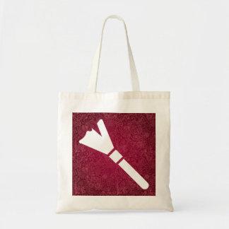 Símbolo de los plumeros bolsa tela barata