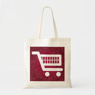 Símbolo de los procedimientos del comercio bolsa tela barata