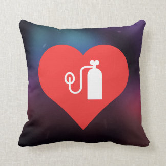 Símbolo de los tanques de oxígeno almohada