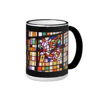 Símbolo de Matthew, escritor del evangelio Taza A Dos Colores