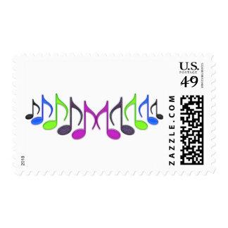 Símbolo de música sellos
