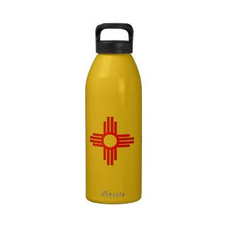 Símbolo de New México Zia Sun Botellas De Beber