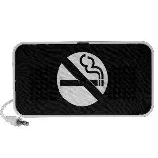 Símbolo de no fumadores iPod altavoces