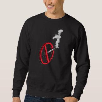 Símbolo de no fumadores pulovers sudaderas