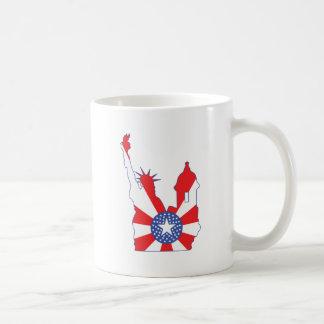 símbolo de Nueva York Puerto Rico combinado Taza De Café