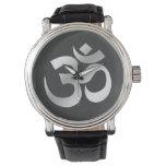 Símbolo de OM Omkara Relojes De Pulsera
