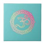 Símbolo de OM sánscrito Azulejos