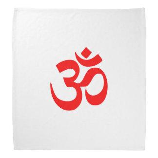 Símbolo de OM Shanti OM Aum Namah Shivay Omkara Bandana