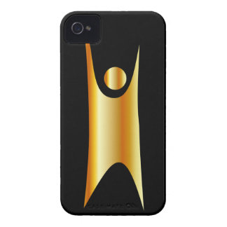 Símbolo de oro del humanismo iPhone 4 Case-Mate fundas