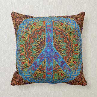 Símbolo de paz almohada