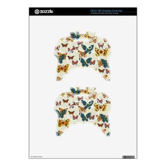 Símbolo de paz de la mariposa mando xbox 360 skin