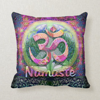 Símbolo de paz de Namaste Cojín