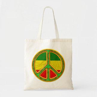 Símbolo de paz de Rasta Bolsa