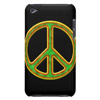 Símbolo de paz de Rasta Case-Mate iPod Touch Protector