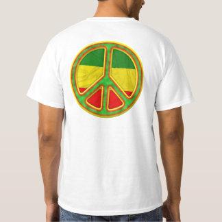 Símbolo de paz de Rasta Playera