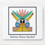 Símbolo de paz de Salome Alfombrilla De Ratón