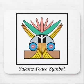 Símbolo de paz de Salome Tapetes De Ratones