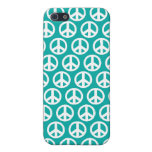 símbolo de paz del verde azul iPhone 5 cobertura