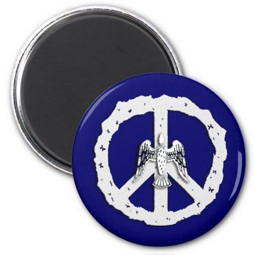 Símbolo de paz e imán de la paloma