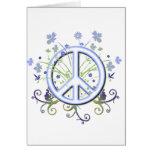 Símbolo de paz felicitaciones