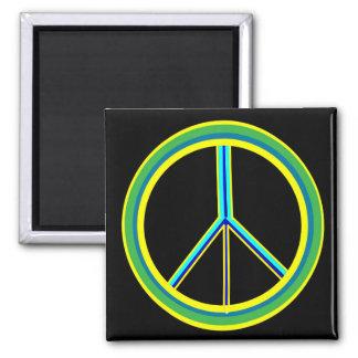 Símbolo de paz imán para frigorifico
