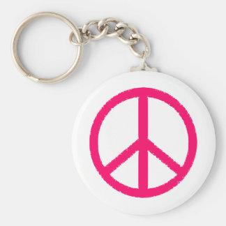 símbolo de paz llavero personalizado