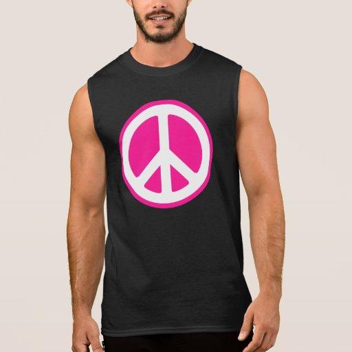 Símbolo de paz playera sin mangas