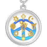 Símbolo de paz que une todas las religiones del mu grímpola