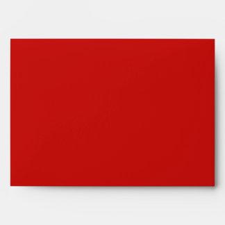Símbolo de paz rojo y blanco sobres