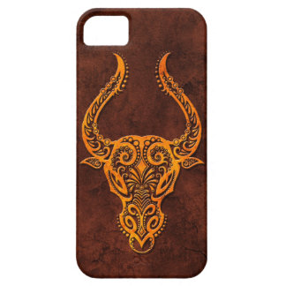 Símbolo de piedra del tauro de Intrictate iPhone 5 Case-Mate Cárcasas