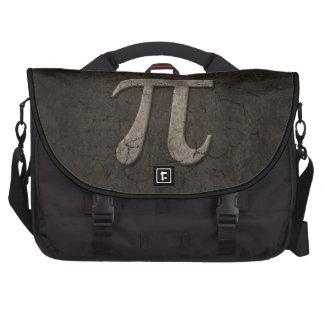 Símbolo de piedra envejecido de la matemáticas del bolsas de ordenador