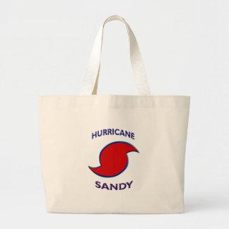 Símbolo de Sandy del huracán Bolsas