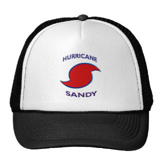 Símbolo de Sandy del huracán Gorra