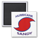 Símbolo de Sandy del huracán Imán De Frigorífico