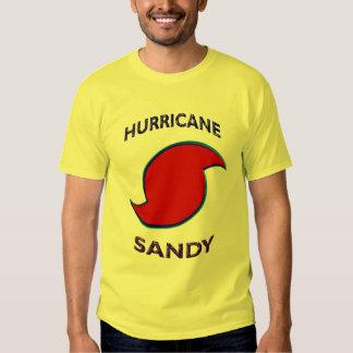 Símbolo de Sandy del huracán Playeras