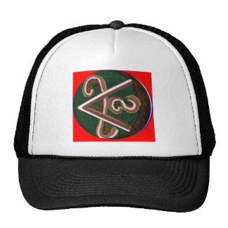 Símbolo de SHANTI: para los amantes de la paz Gorro De Camionero
