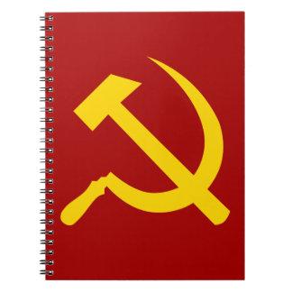 Símbolo de Unión Soviética - СоветскийСоюзСимвол Spiral Notebook