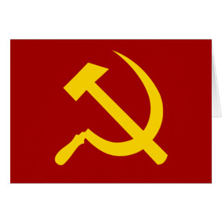 Símbolo de Unión Soviética - СоветскийСоюзСимвол Tarjeta De Felicitación