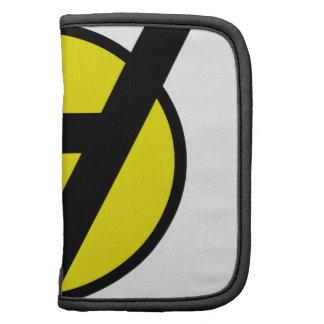 Símbolo de Voluntaryist - negro y amarillo Organizador