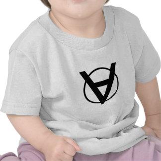Símbolo de Voluntaryist - Voluntaryist la serie Camiseta