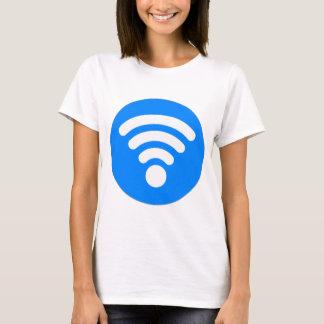 Símbolo de Wifi Playera