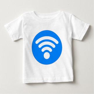 Símbolo de Wifi Playera De Bebé