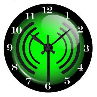 Símbolo de WiFi Reloj De Pared