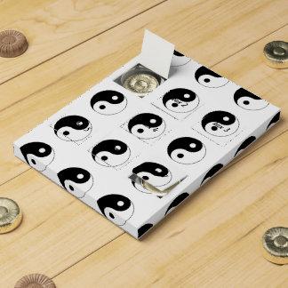 Símbolo de Yin/de Yang Calendarios De Adviento De Chocolate