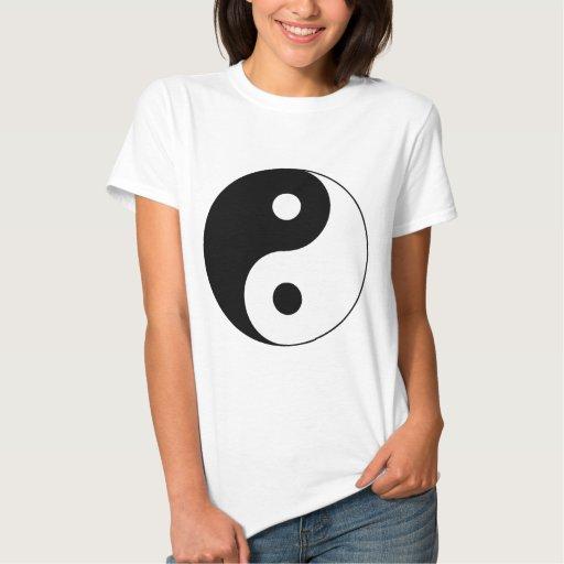 Símbolo de Yin/de Yang Playera